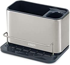 Joseph Joseph 85112 Surface Stainless-Steel Sink Tidy, Gray
