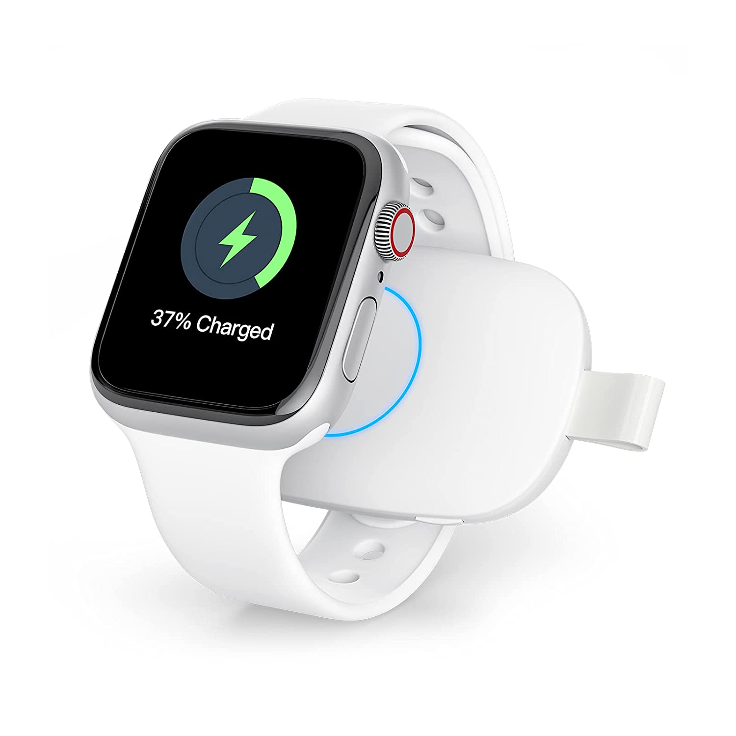 Wireless Watch Charger for Apple Watch Power Bank Charger Portable 1000mAh