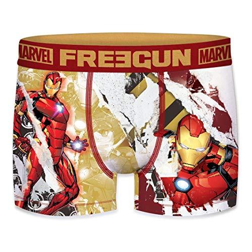 FREEGUN - Calzoncillos para Hombre de Marvel Avengers Iron Man Iron Man 2020 S