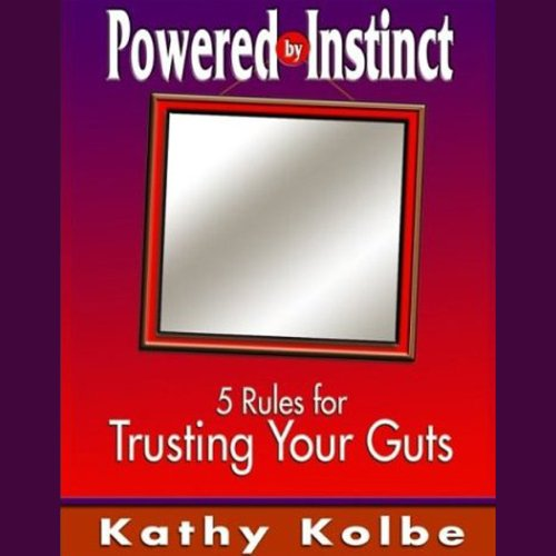 Powered by Instinct audiobook cover art