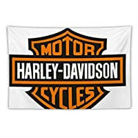Harley-Davidson タペストリー 壁掛け おしゃれ 布ポスター インテリア ウォールアート 窓カーテン 壁掛け布 装飾布 多機能壁掛け 模様替え 部屋 150*100cm