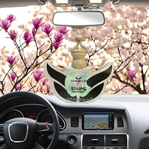 MEGA Autoparfüm FRÜHLING Aprilfrische WEICHSPÜLER Autoduft Parfum Öl Anhänger Düftöl Lufterfrischer Duft für Auto (SPRING AprilFresh)