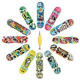 HOMETALL 12 PCS Professional Mini Fingerboards Finger Skateboard(12 PCS)...