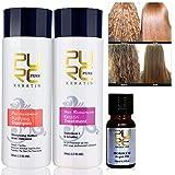 Shreeyas 5% formalin keratin hair treatment and purifying shampoo hair care products set
