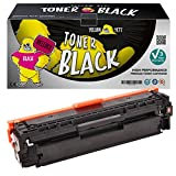 Yellow Yeti 131X CF210X 731 (2,400 Pages) Remanufactured Black Toner Cartridge for HP LaserJet Pro 200 Color MFP M276nw M276n M251nw M251n Canon i-SENSYS LBP7100Cn LBP7110Cw MF628Cw