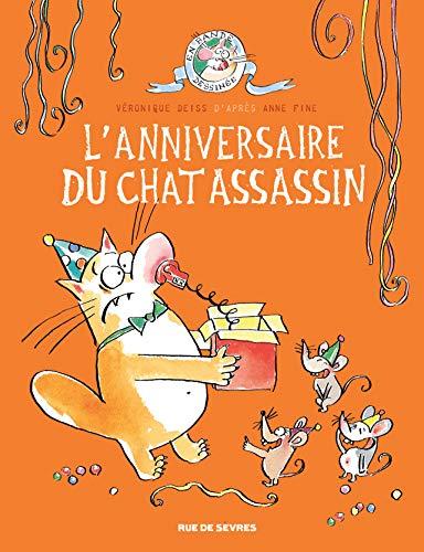 Chat assassin tome 4 - l'anniversaire du chat assassin (Le) (BD JEUNESSE)