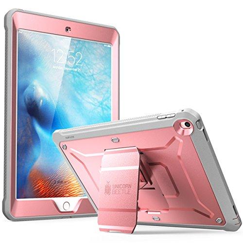 SUPCASE Hülle für iPad 9,7 Zoll 2018/2017 [Unicorn Beetle PRO] Fullbody Case Rugged Schutzhülle Cover mit integriertem Displayschutz für iPad 9.7 5./6. Generation (Rosa)