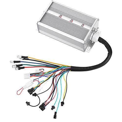 Fendysey Controlador sin escobillas con Panel LCD Kit de Controlador de Velocidad...