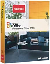 Microsoft Office Professional Edition 2003 Upgrade [OLD VERSION]