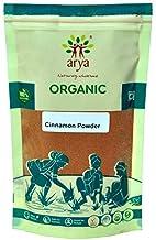 Arya Farm Certified Organic Pure Edible Cinnamon Powder , 100g ( Pack of 4 )