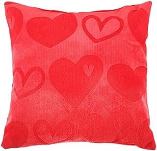 Rioma 99990000059 - Cojín con diseño de enamorados, 30 x 30 cm, color rojo