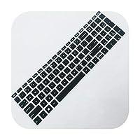 2020 2Pcs耐久性のあるアンチダストキーボードカバーソフトシリコンスキンフィルムfor HP 15.6インチ