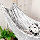 Joint Gou Baby Hammock for Crib, Cotton Infant Toddler Hanging Sleep Bassinet,Detachable Portable Better Sleep Hanging...