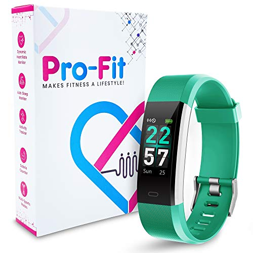 Pro-Fit Smart VeryFitPro Fitness Tracker IP68 Waterproof Activity Tracker Heart Rate Sleep Monitor (Green)