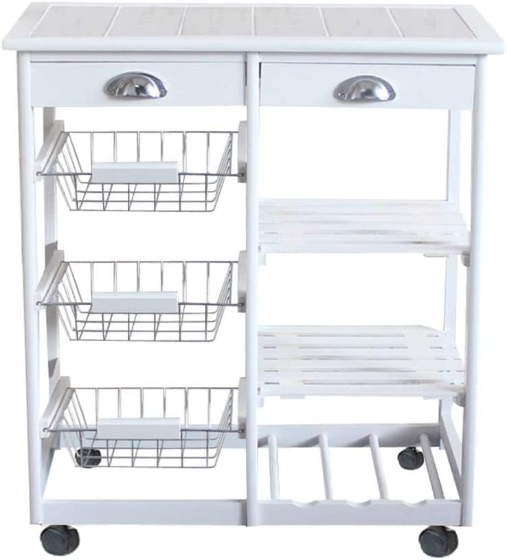 Moveable Kitchen Credence Ranking TOP17 Cart Dining Room Tro Storage Rolling
