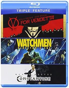 V for Vendetta / Watchmen / Constantine  Triple-Feature  [Blu-ray]