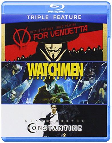 V For Vendetta & Watchmen & Constantine (4 Blu-Ray) [Edizione: Stati Uniti] [Reino Unido] [Blu-ray]