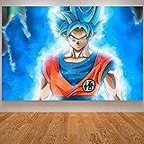 wtnhz Kein Rahmen Baby Zimmer Wand Leinwand Goku Poster