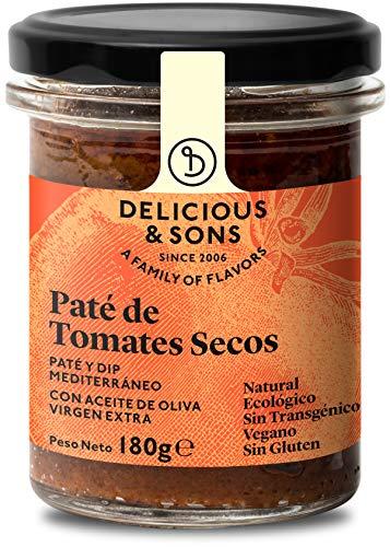 Delicious & Sons Paté de Tomates Secos - Ecológico - S