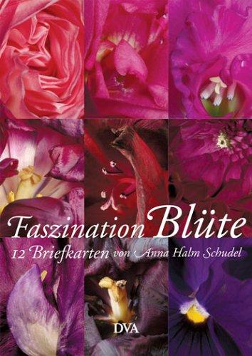 Faszination Blüte – Die Briefkarten: 12 Briefkarten mit Fotografien von Anna Halm Schudel