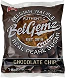 BelGemz Belgian Waffles, Chocolate Chip, 10 Pack