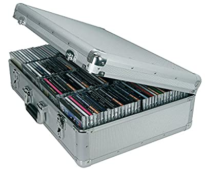 Aluminium CD Flight Case | 120 CDs