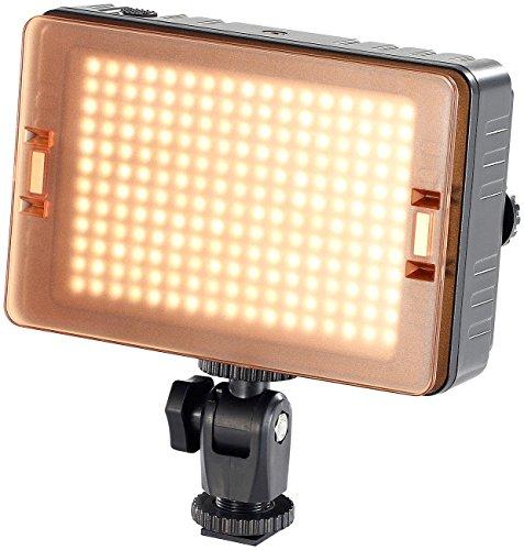 Somikon Videolicht: Foto- und Videoleuchte FVL-1420.d mit 204 Tageslicht-LEDs (Video Lampe)