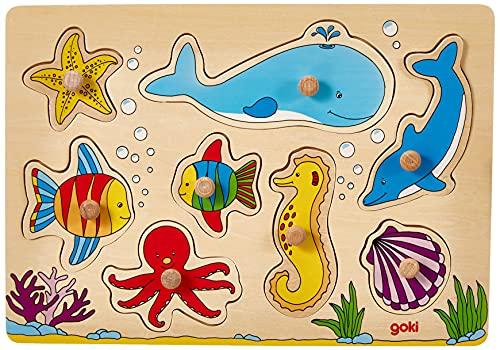 Goki -   57953 - Steckpuzzle
