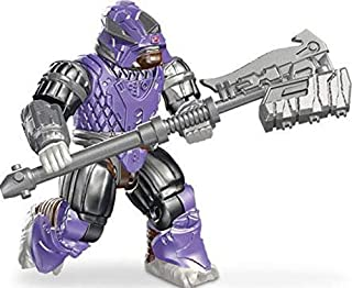 Halo Mega Bloks LOOSE Minifigure Covenant Purple Brute Stalker [Series 9]
