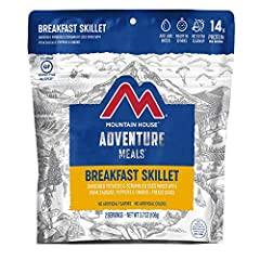DELICIOUS BREAKFAST! Hash browns scrambled eggs crumbled pork patty peppers and onions Freeze-dried to lock in nutrients and freshness No refrigeration needed NO ARTIFICIAL COLORS OR FLAVORS - Made with no artificial flavors or colors and certified g...