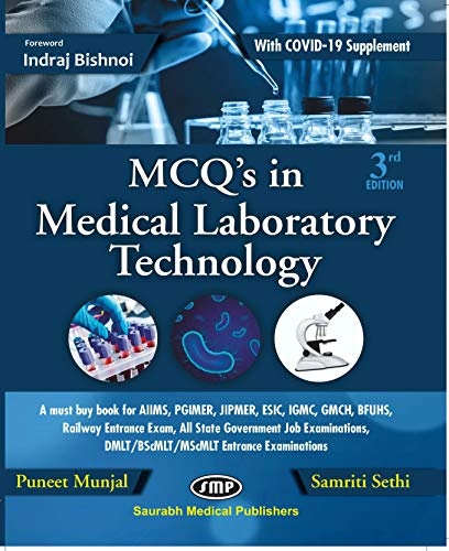 MCQs in Medical Laboratory Technology 3rd ed 2020
