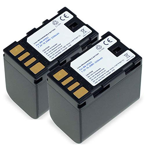 subtel 2X Batería Premium Compatible con JVC GY-HM100 GS-TD1 GZ-MG120 -MG130 -MG275...