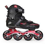 ME-Rollerns Original Flying Eagle Drift Patines en línea Ruedas Falcon Zapatos de Patinaje sobre Ruedas Slalom Black 38