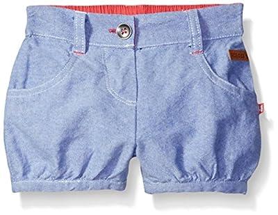 Robeez baby-girls Woven Shorts, Blue, 6 Months