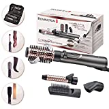 Remington Curl Straight Rotating Hot Air AS8606, Spazzola ad...