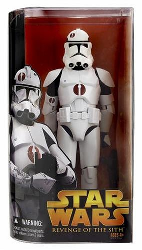 "Hasbro Star Wars Revenge of the Sith Collection 2005 Clone Trooper Revenge of the Sith 12"" Inch/ 30 cm"