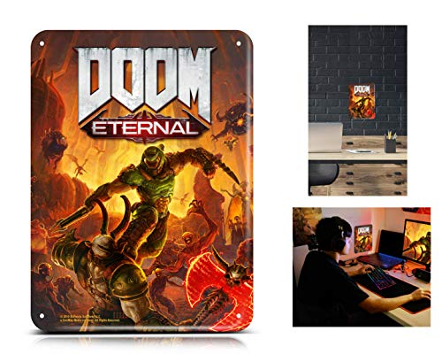 DOOM Eternal with Steel Poster (Exclusive to Amazon.co.uk) (PS4)