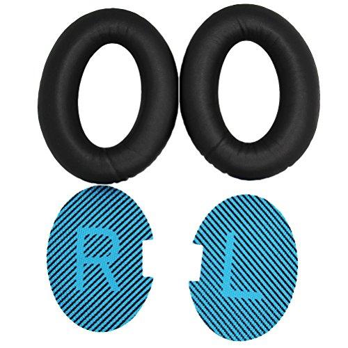 Almofadas de substituição Para BOSE QuietComfort15 QC2 QC15 QC25 QC35 AE2, AE2i, AE2 sem fio, fones de ouvido AE2-W Substituição Da Espuma Da Memória Almofada de Orelha