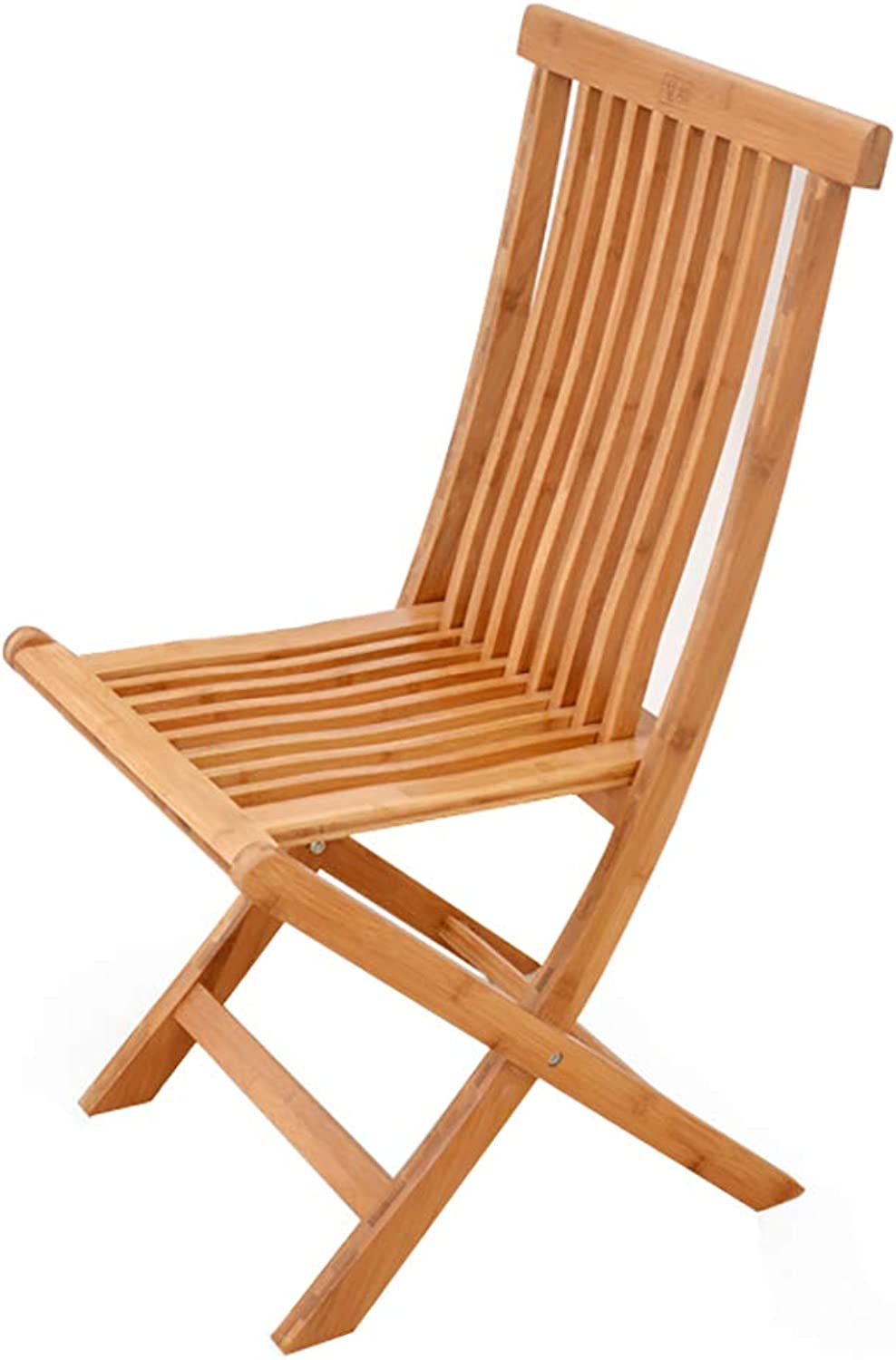 Bamboo Folding Chair Dining Chair Large Medium and Small Portable Bamboo Chair Solid Wood Fishing Chair (Size   35  25  58cm)