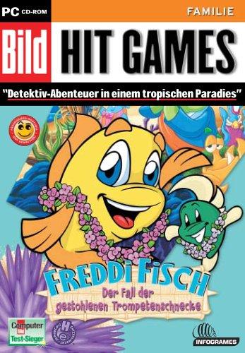 Freddi Fisch: Gestohlene Trompetenschnecke [Bild Hit Games]