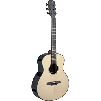 James Neligan LYN-A MINI FI LYNE Series Auditorium Acoustic-Electric Travel Guitar with FISHMAN Electronics