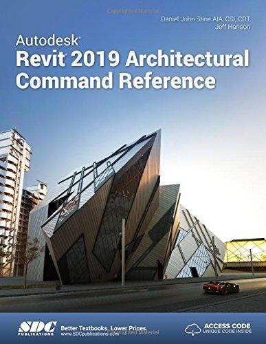 Price comparison product image Autodesk Revit 2019 Architectural Command Reference