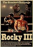 DUDUANLIAN Leinwand Plakat Rocky Balboa Filmplakat Boxen