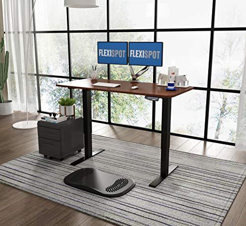 Flexispot E1 Elektrisch Höhenverstellbarer Schreibtisch mit Tischplatte 2-Fach-Teleskop, mit Memory-Steuerung (Mahagoni)