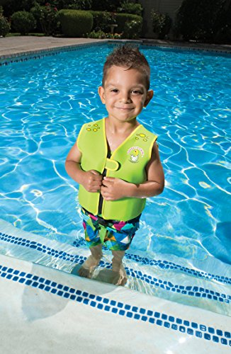 Poolmaster 50566 Learn-to-Swim Dino Kid's Swim Vest, 3-6 Years Old