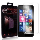Ycloud Panzerglas Folie Schutzfolie Bildschirmschutzfolie für Nokia Lumia 635 screen protector mit Festigkeitgrad 9H, 0,26mm Ultra-Dünn, Abger&ete Kanten