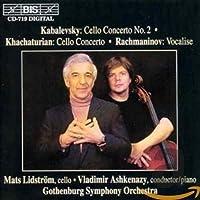 カバレフスキー:チェロ協奏曲集