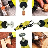 MLD Mini Die Grinder with Flexible Shaft,Rotary Tool Die Grinder DIY Crafts Accessory Kit for Precision Work for Drilling, Sanding, Buffing, Polishing, Engraving, etc