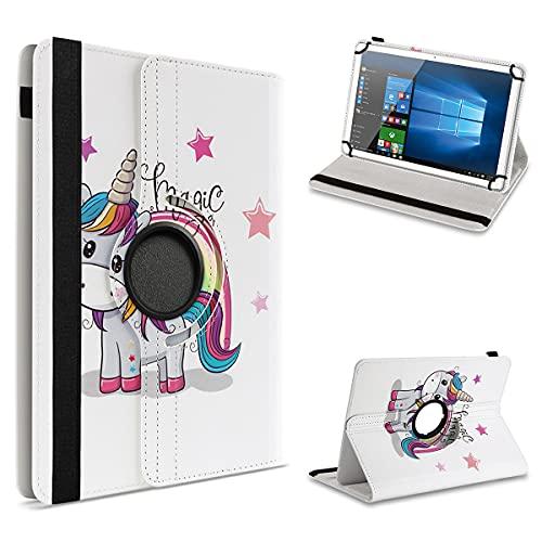 UC-Express Schutzhülle kompatibel für Archos 101 Platinum 3G Tablet Hülle Tasche Hülle Cover 360° Drehbar, Farbe:Motiv 16
