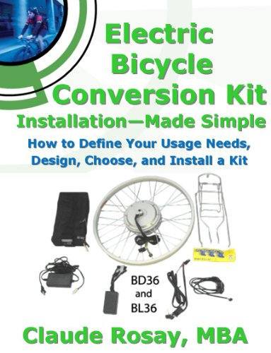 Electric Bicycle Conversion Kit Installation -...